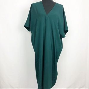 Aritzia Babaton Emerald Green Shift Dress